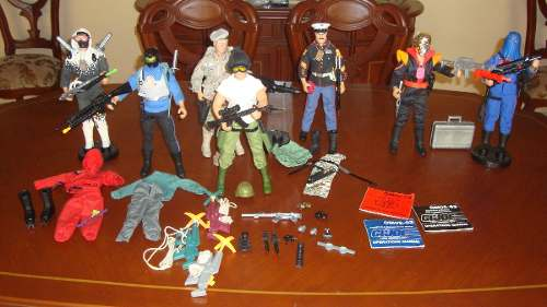 Coleccion De Figuras G.i.joe De 30cm Hall Of Fame Hasbro 93