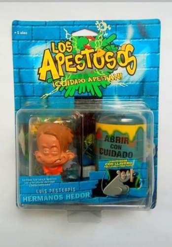 Figura De Luis Pesteapis De Los Apestosos En Su Blister