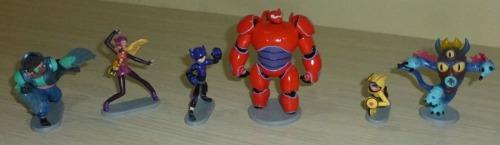 Figuras De La Película Big Hero 6