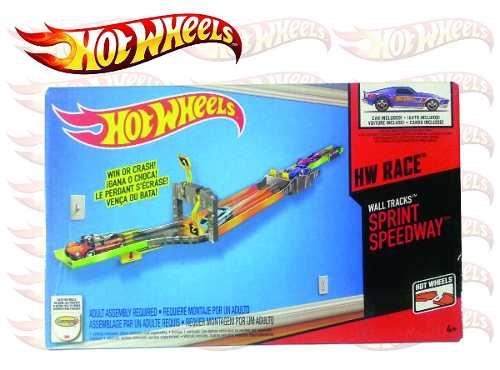 Hot Wheels Pista Wall Tracks Sprint Speedway (somos Tienda)