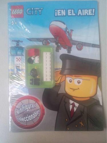 Lego City Figura De Acción Muñeco Piloto De Avión