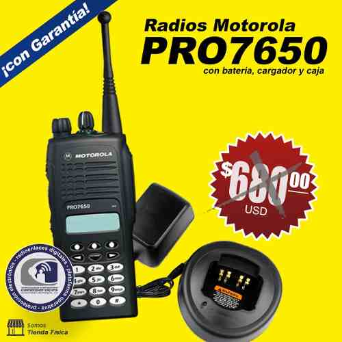 Radio Motorola Serie Pro  Trunking 800 Mhz Intrinseco
