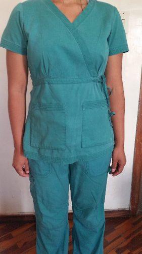 Mono Uniforme Medico Odontologo Enfermera Tela Algodon