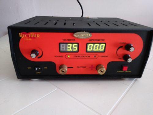 Rectificador Para Baños Electroliticos De 60 Amp
