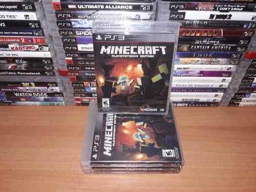 Minecraft Nuevo Sellado Juego Ps3 Y Muchos Juegos En Fisicos