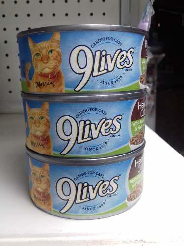 Alimento Enlatado Para Gatos 9 Lives