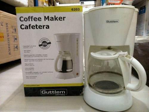 Cafetera De 12 Tazas Eléctrica Con Jarra Termica. Guttlem