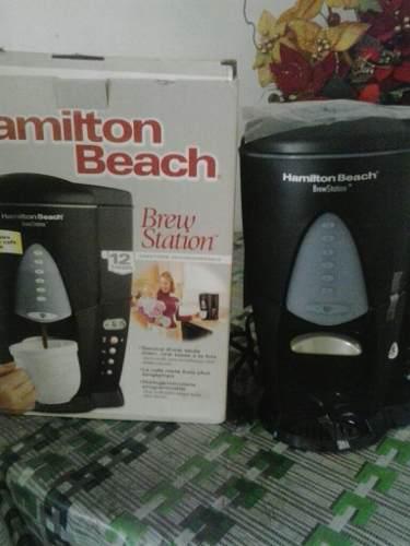 Cafetera Hamilton Beach 12 Tazas Programable Mod 47214
