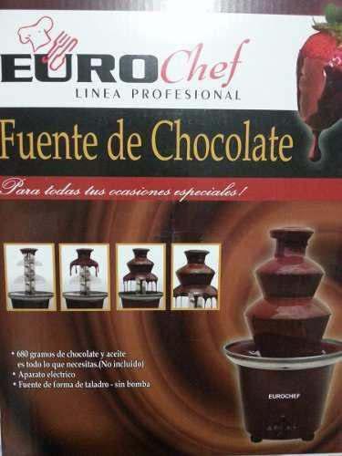 Fuente De Chocolate 3 Niveles. Eurochef