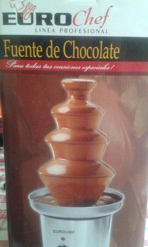 Fuente De Chocolate Euro Chef 4 Pisos