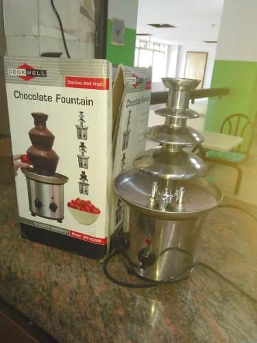 Fuente De Chocolate Eurochef, Tres Niveles, Casi Nueva