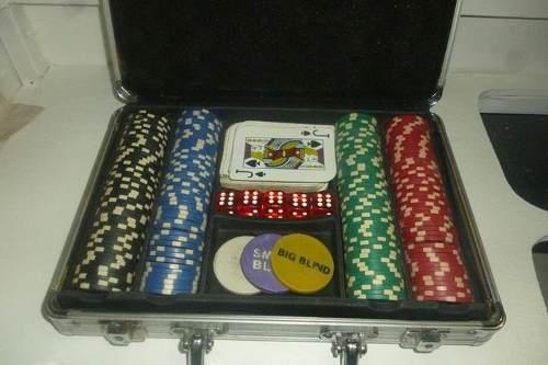 Maletin De Poker, Fichas De Poker Nuevas