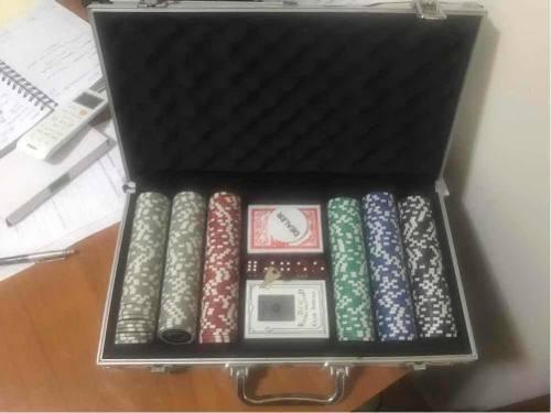 Maletín Fichas De Poker
