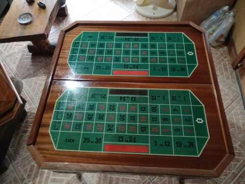 Mesa De Juegos Marketeada Ruleta Poker Ajedres