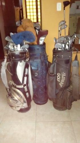 Palos De Golf Con Estuche Y Pelotas