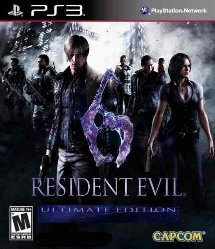 Resident Evil 6 Ultimate Edition Ps3 - Formato Digital