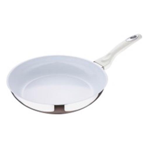 Sartén Ceramica 28 Cm, Mango De Acero Forjado Bergner
