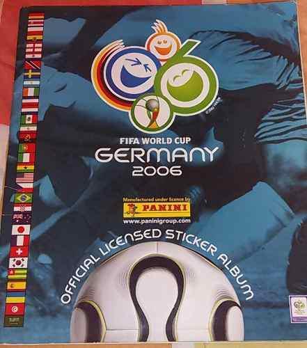 lbum Panini Del Mundial Alemania 2006 Lleno. Buen Estado
