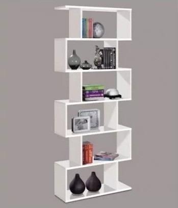 Bibliote Minimalista Multifuncional Moderna