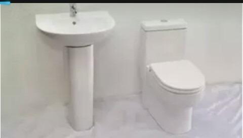Juegos De Baño (Pocetas Y Lavamanos) Sanitario Wc Pedestal