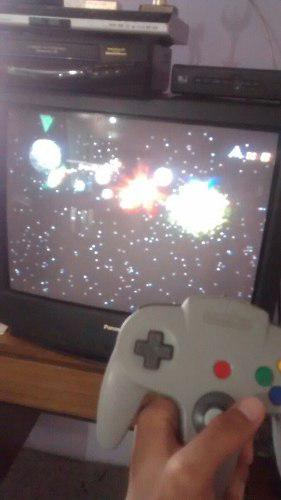 Nintendo 64 Bien Conservado 4 Juegos Y 2 Controles