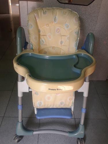 Silla Para Comer De Bebe Happy Baby Unisex Imagen Real
