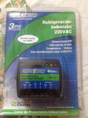 Protector Refrigeracion Industrial 220v Cable Cable Bornera