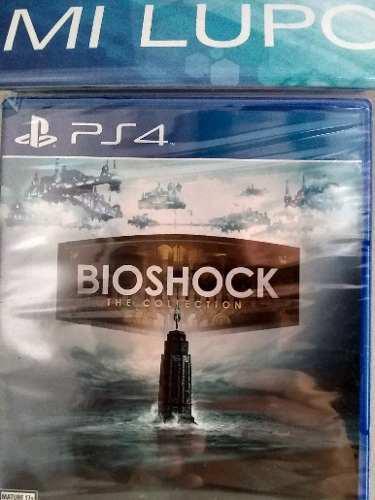 Juego Bioshock Collection Ps4 Fisico Nuevo Sellado, Variedad