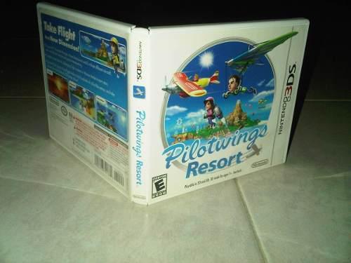Juego De 3ds Pilotwings Resort Con Manual