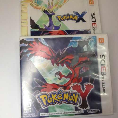 Juego Nintendo 3ds Pokemon X & Y