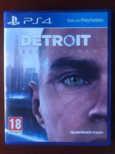 Juego Ps4 Detroit Become Human Original Fisico