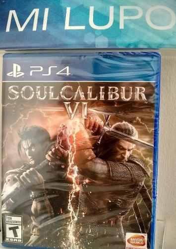 Juego Soulcalibur Vi Ps4 Fisico Nuevo Sellado, Variedad Ps4