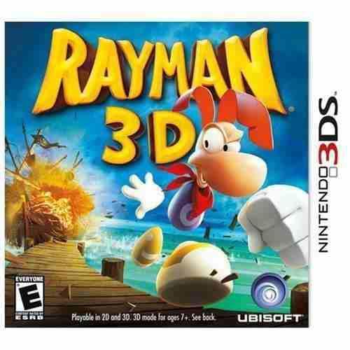 Juegos Para Nintendo 3ds Rayman 3d & Cartoon Network