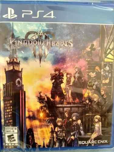 Kingdom Hearts 3 Ps4 Fisico Sellado 2019, En Oferta Ps4