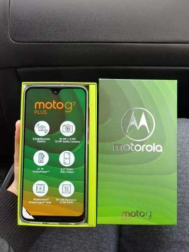 Motorola Moto G7 Plus 2019 4+64gb 4g+lte 6.2' 16+5mp Dualsim