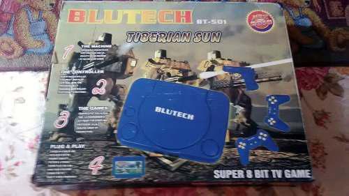 Nintendo Funstation Blutech Con 2 Controles Y Juego 4 En 1