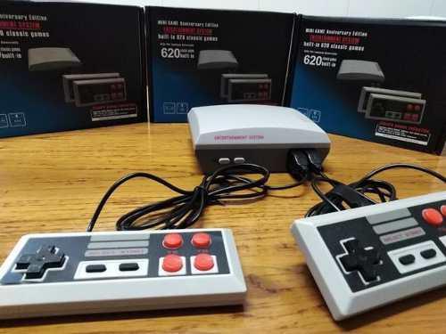 Nintendo Ness Edicion Aniversario + 2 Controles (600 Juegos)