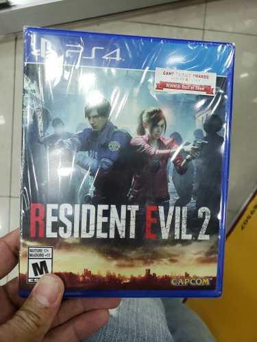 Resident Evil 2 Remake Ps4 Nuevo Sellado Entrega A Domicilio