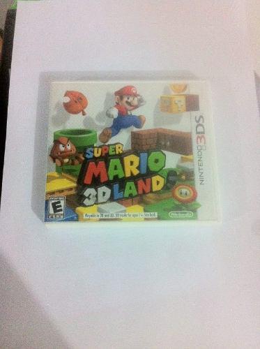 Super Mario 3d Land, Nintendo 3ds, Usado.