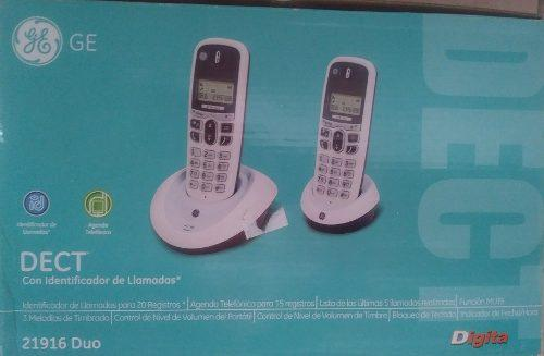 Telefono Inalambrico General Electric Dect. 2 Telf. Nuevos