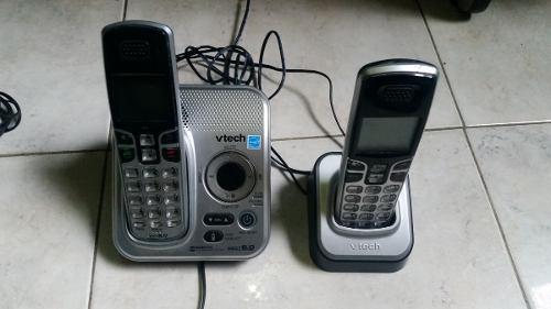 Teléfono Inalambrico Con Auxiliar Vtech Con Contestadora