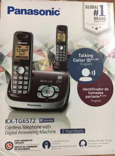 Teléfono Panasonic Inalámbrico Kx-tg6572r
