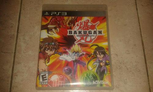Juego De Bakugan Original Para Playstation 3 Impecable