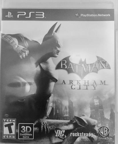 Juego De Ps3 Batman Arkham City