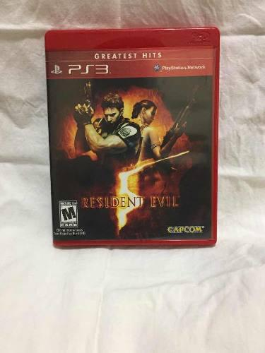 Playstation 3 Ps3 Psp Juego De Play Resident Evil 5