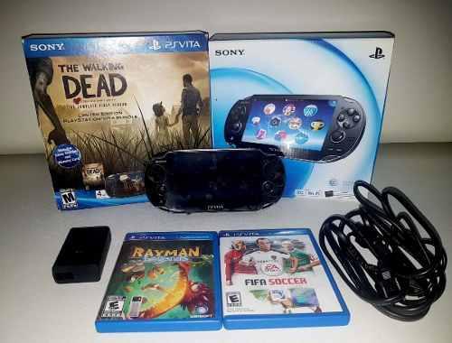 Sony Playstation Vita Wifi Con Caja Original Y Juegos