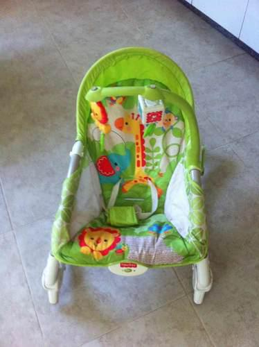 Silla Mecedora Para Bebés Fisher Price En Perfecto Estado