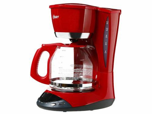 Cafetera 12 Tazas Color Roja Oster Bvstdw12r