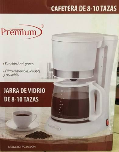 Cafetera Eléctrica 8 A 10 Tazas Premium.