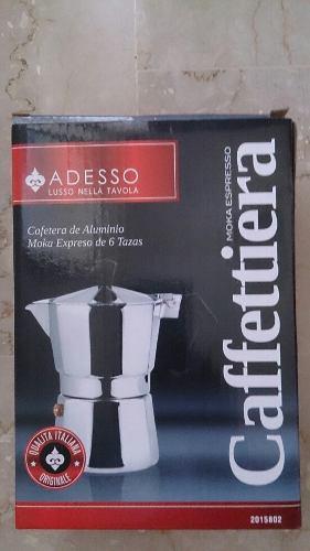 Cafetera Greca De 6 Tazas Adesso Nuevas
